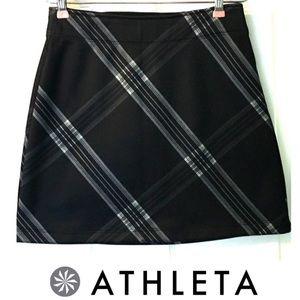 Athleta Skirt Tear Away B4 U Play XXS Plaid